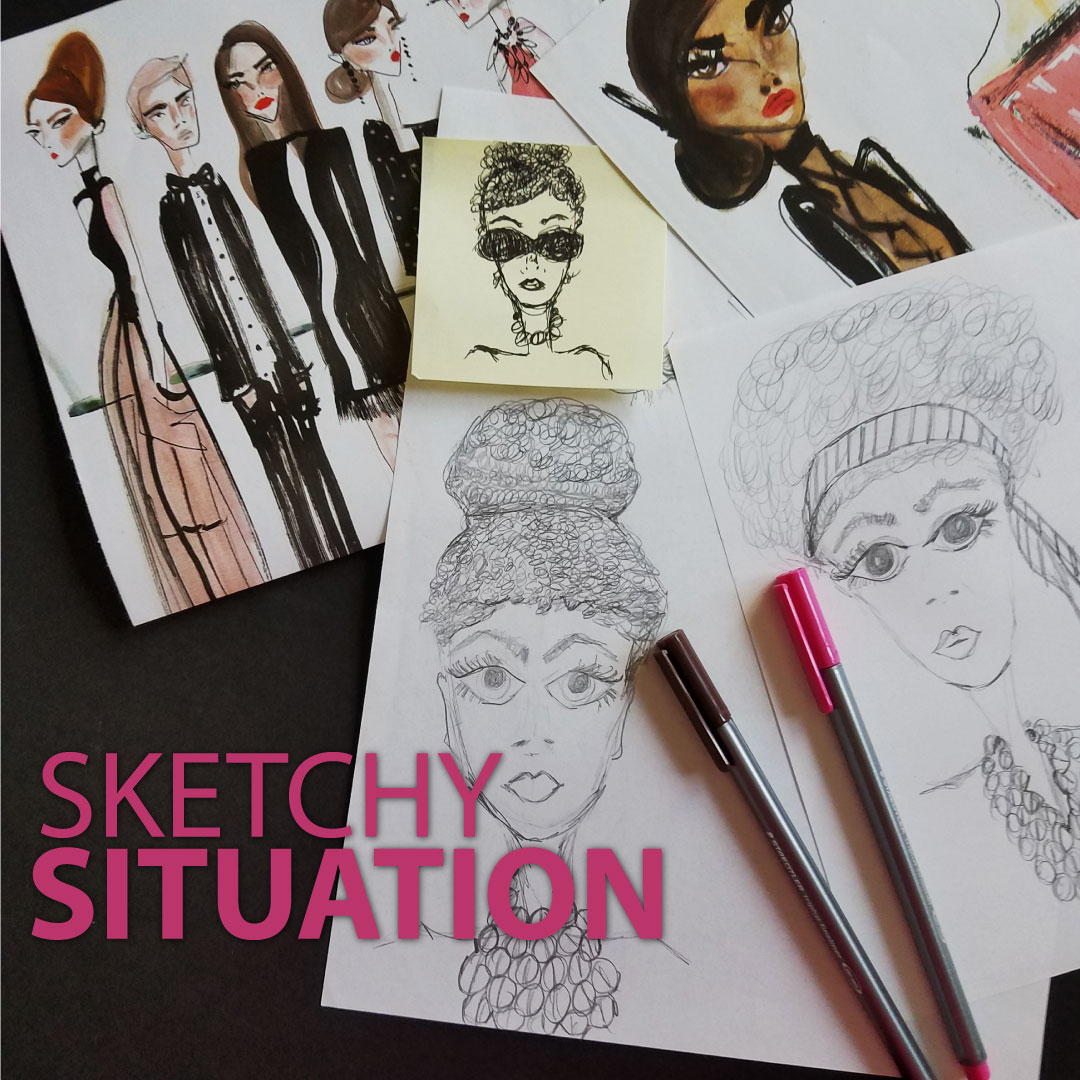 5 fabulous fashion sketch artists tracey renée hubbard